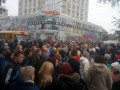 В Одессе протестующие заблокировали дорогу возле Привоза