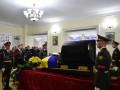 В Киеве простились с полковником Шаповалом