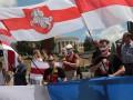 В Киеве прошла акция солидарности с Беларусью