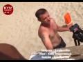 В Киеве на пляже пьяные хулиганы нападали на людей