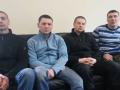 Освобожденный экс-беркутовец сбежал в РФ и записал обращение