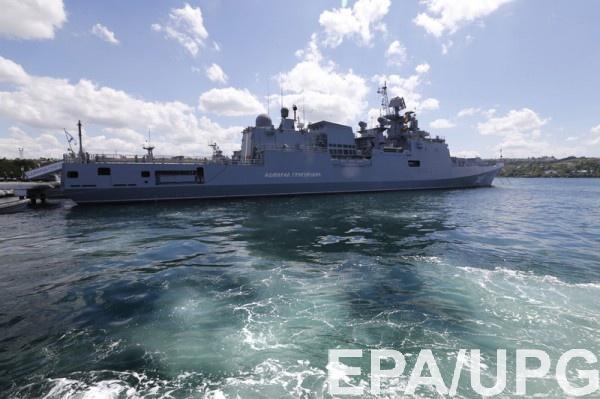 Черноморский флот может быть использован в Азовском море против Украины