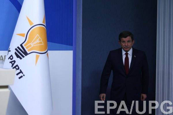 Премьер Ахмет Давутоглу объявил о собственной отставке— Турция