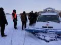 На Киевском водохранилище снегоход провалился под лед, есть жертвы