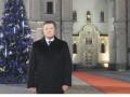 В Новый год и Рождество Янукович обратится к украинцам по телевизору из Киево-Печерской Лавры