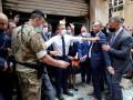 В Бейруте граждане обвиняют президента в терроризме