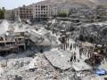 В Сирии военный самолет рухнул на рынок: десятки погибших