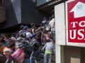 Тысячи людей из каравана мигрантов запросили убежище в Мексике