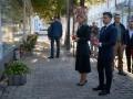 Зеленский с женой возложили цветы к Стене памяти