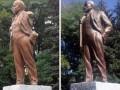 В Харькове восстановили снесенный памятник Ленину
