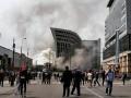 В Москве вспыхнул пожар на Киевском вокзале
