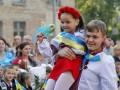 День в фото: патриотичное 1 сентября и сдача Иловайска
