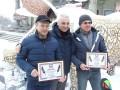 В Тернополе установили рекорды: В снегу и с гвоздями