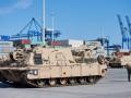 В Польшу прибыли американские танки и гаубицы