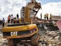 В Камбодже обвалилась многоэтажка, есть жертвы