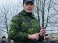 Диверсант Бес заявил о расстреле двух офицеров в Горловке