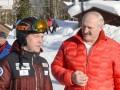 Лукашенко и Медведев встретились на горнолыжной трассе в Сочи