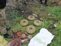 СБУ обнаружила тайник с минами для терактов в Мариуполе