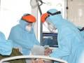 COVID: за сутки госпитализировали каждого шестого