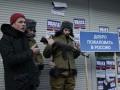 Националисты с оружием блокируют в Киеве пять российских банков