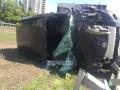 В Киеве в ДТП пострадала семья с трехлетним ребенком