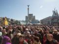 На Майдане проходит Вече