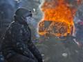 День в фото: Замерзший Майдан и футболки с Беркутом
