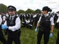 В Лондоне протесты против карантина закончились арестами