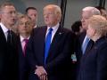 Трамп оттолкнул премьера Черногории в штаб-квартире НАТО