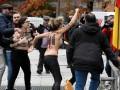 В Мадриде Femen пытались сорвать акцию в честь годовщины смерти Франко