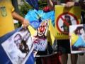 В Словении Путина встретили плакатами с надписью