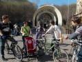 Киевляне требуют позаботиться о велосипедистах и пешеходах при реконструкции Почтовой площади