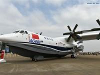 Крупнейший в мире самолет-амфибия совершил первый полет