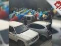 В Китае торнадо перевернул батут, погибли дети