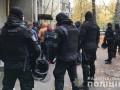 В Киеве полиция задержала активистов в балаклавах