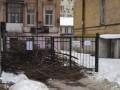 В центре Киева на акции против застройки женщине сломали ногу