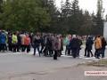 В Николаевской области медработники перекрыли трассу