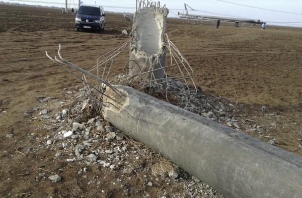Минэнерго: Из-за подрыва ЛЭП под угрозой вся энергосистема Украинского государства