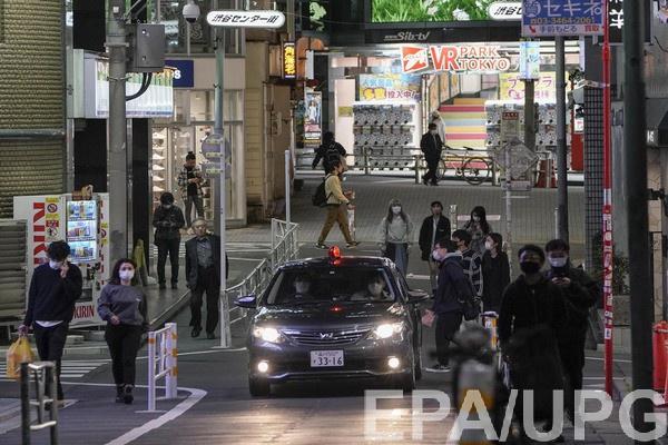 В Токио зафиксировали вспышку коронавируса