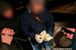 Полиция поймала коммунальщика в Черновцах на взятке в 25 тыс грн