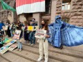 Под стенами КГГА устроили климатическую забастовку