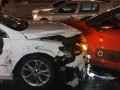 В центре Киева столкнулись четыре авто, движение парализовано