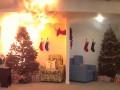 Как сухая елка может за минуту сжечь квартиру