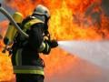 На трассе под Черниговом сгорела БМП