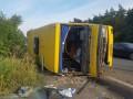 Под Днепром фура влетела в маршрутку: 13 пострадавших