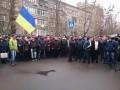Здание МВД пикетируют не прошедшие аттестацию милиционеры
