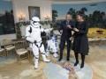 Барак и Мишель Обама станцевали с героями Звездных войн