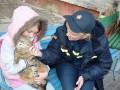 В Чернигове из-за игр ребенка с огнем заживо чуть не сгорела кошка