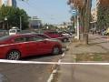 В Харькове неизвестные стреляли в женщину и скрылись на её авто