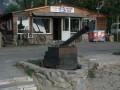 В Гидропарке демонтируют кафе Очеретяний кіт